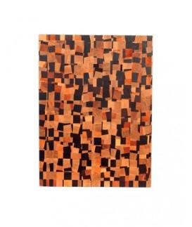 Skærebræt firkantet - forskelligt farvet træ fra Lignas
