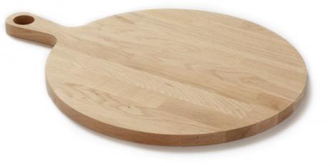 Denwood - Bæredygtigt rundt serveringsfad m. saftrille - Ø40x2 cm.