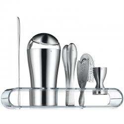 WMF Loft barsæt mat stål/klar