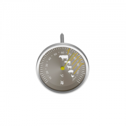 WMF Scala stegetermometer stål - 13 cm