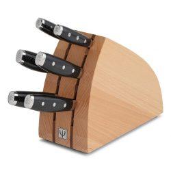 Yaxell GOU - Blok sæt i bøg m. 6 knive