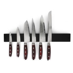 Yaxell SUPER GOU - Magnetsæt sort - m. 6 knive