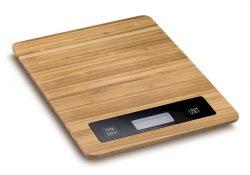 Køkkenvægt i bambus - 23x16x1,8cm  - Fra Deglon Série Bambus