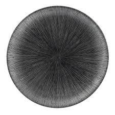 Agano Black 28,5cm tallerken fra churchill