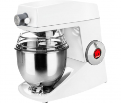 Bjørn Teddy køkkenmaskine m/udtag i hvid - 5 liter