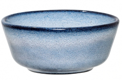 Bloomingville skål i lyseblåt stentøj - Sandrine Ø8