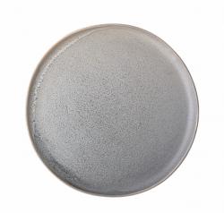 Bloomingville tallerken grå - Ø:27,5 cm