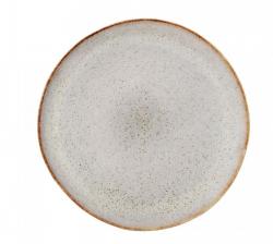 Bloomingville tallerken i gråtglaseret stentøj Ø28,5