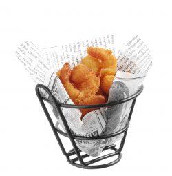 Pommes-frites kurv, Hendi - flere størrelser