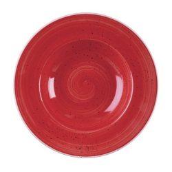 Dybtallerken fra churchill 28 cm. Berry Rød