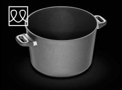 Gryde til induktion Ø32 cm højde 21 cm  - AMT GASTROGUS - WORLDS BEST PAN