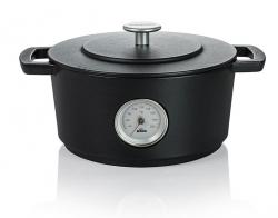 Hollandsk ovn med termometer 24cm fra Combekk