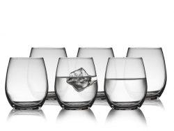 Lyngby Glas Juvel Vandglas 39 cl 6 stk. klar.