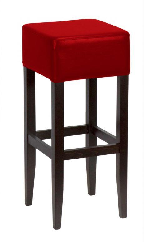 Metro barstol - Rød