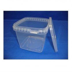 Plastbøtte, stabelbar og fødevaregodkendte, 1150 ml, 5624DTE