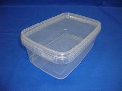 Plastbøtte, stabelbar og fødevaregodkendte, 1200 ml, 5630DTE