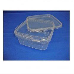 Plastbøtte, stabelbar og fødevaregodkendte, 600 ml, 5621DTE