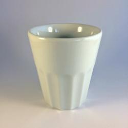 Porcelæn kaffekrus u. hank - Amalie, flere størrelser