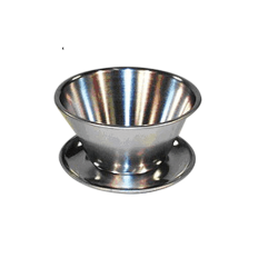 Sauceskål rustfrit stål 0,75 L