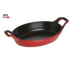 Staub Ildfast fad - 21 eller 24 cm - Kirsebær Rød