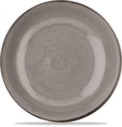 Stonecast Grey Stor Skål 30cm, Churchill
