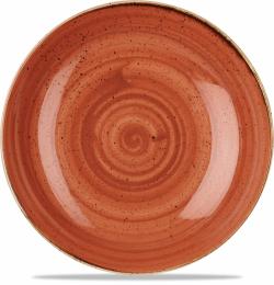 Stonecast Orange Stor Skål 30cm, Churchill