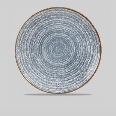Studio prints tallerken 16,5 cm. (blå) Churchill