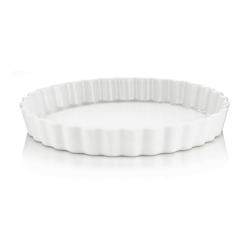 Tærteform af kvalitetsporcelæn, ILDFAST - 26cm i diameter