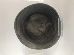 Tallerken i sort fra Churchill, 21 cm