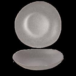 Trace melamin skål, grå fra Churchill