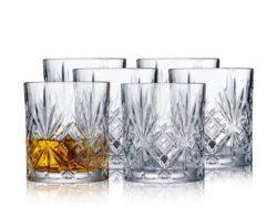 Whiskygl. 6 stk Lyngby Melodia