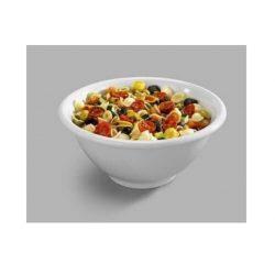 Melamin skål i hvid, Pujadas - flere størrelser