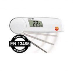 Praktisk mini foldetermometer til fødevarer, Testo T103