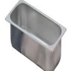Stålkantine / isbeholder, Bilge