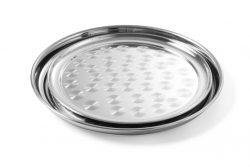 Oval serveringsbakke med opløftet bund, Hendi - flere størrelser