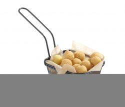 Pommes-frites kurv, stabelbar, Hendi - flere størrelser
