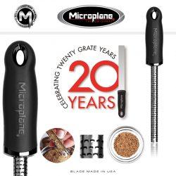 Premium rivejern til krydderier, Grov, Microplane