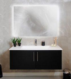 Backlight spejl dansk produceret 70cm serie