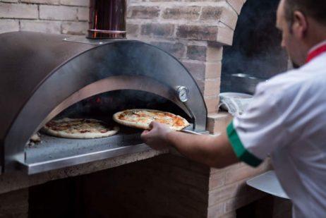 Pizzaovn / stenovn, Pizzaiolo - 4 pizza, BRÆNDEFYRET