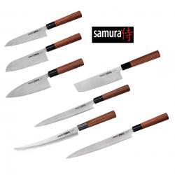 Samura OKINAWA komplet, 7 dele - Det ultimative sæt Japanske knive