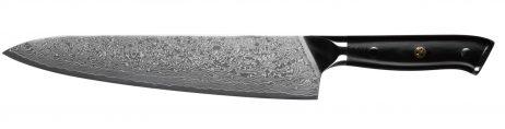 Kokkekniv 24 cm. 67 lag Damascus stål - KONISEUR - Tools By Gastro