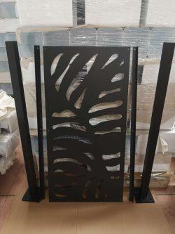 Skillevæg 120 cm h x 60 cm b (uden fod)