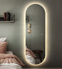 Premium spejl Ida med LED lys Backlight